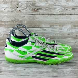 Adudas F10 TRX TF Mens Size 7.5 Turf Cleat Neon